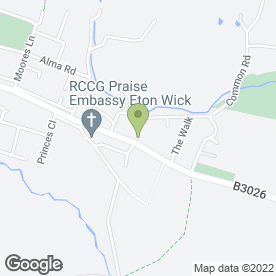 Map of speediePAWS in Eton Wick, Windsor, berkshire