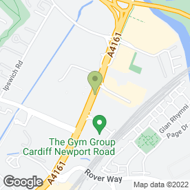 Map of Albany Cleaning Services Ltd in Cardiff, south glamorgan