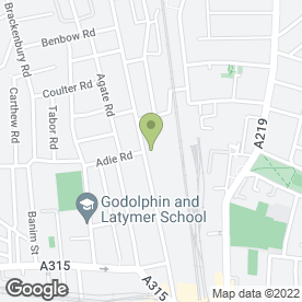 Map of West London Aerials & Satellites in London, london
