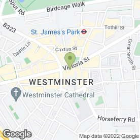 Map of Mail Boxes Etc Westminster in London, london