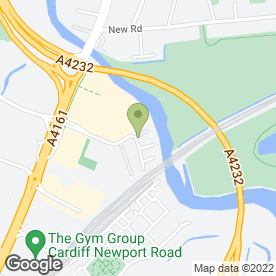 Map of Rentokil Property Care in Cardiff, south glamorgan