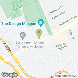 Map of Green Rooms Garden Services in London, london