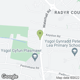 Map of Pitman Plumbing Services in Cardiff, south glamorgan