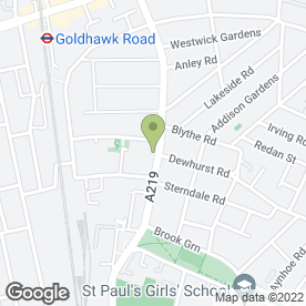 Map of Comfotel Green Ltd in London, london