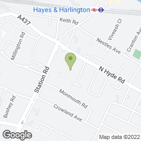Map of Hayes Heating and Boiler Specialists - Heating Central in HAYES, middlesex