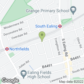 Map of Dr M Karunaratne in London, london