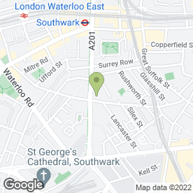Map of London Plastering & Damp Proofing Ltd in London, london