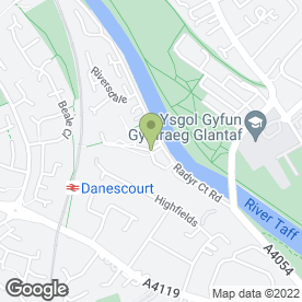 Map of Property Solutions in Cardiff, south glamorgan