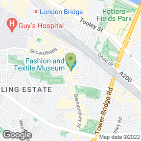 Map of Teapod at FTM in London, london