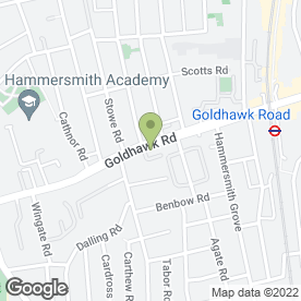 Map of Chiswick Park Home Improvement & Repair Co in London, london