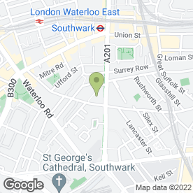 Map of BLOYS BUSINESS CATERERS in London, london