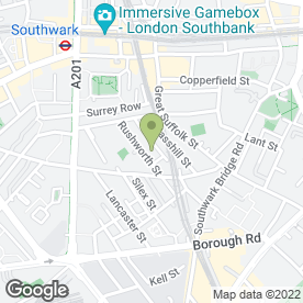 Map of CSM Logistics in London, london