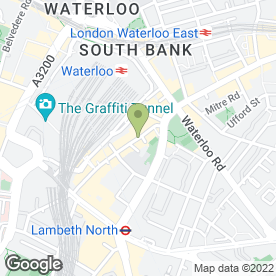 Map of Ecco in London, london