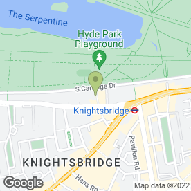 Map of The Knightsbridge Salon in London, london