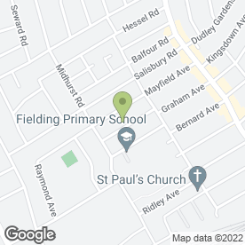 Map of The Teltone Flooring Co in West Ealing, london