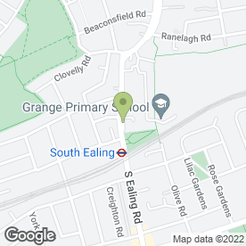 Map of Shell Triangle Ealing in Ealing, London, london
