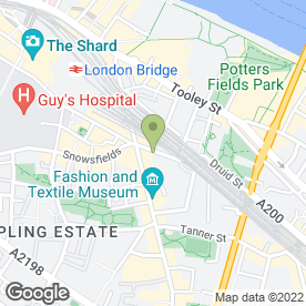 Map of Pierre Garroudi Gallery in London, london