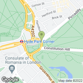 Map of Wellington Arch in London, greater london