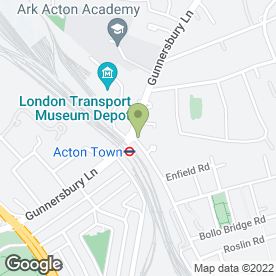 Map of Acton Town Cafe in London, london