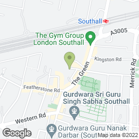 Map of Ideal Woodworks in Southall, middlesex