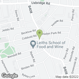 Map of Tennessee Chicken & Ribs in LONDON, london