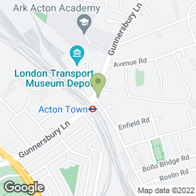 Map of Acton Oriental Stores in London, london