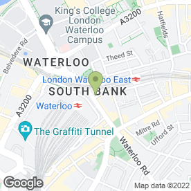 Map of Wellington in London, london