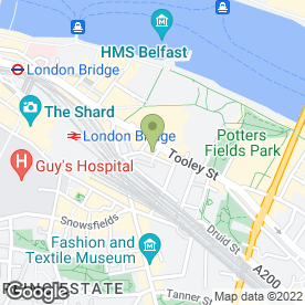 Map of Magdalen Restaurant in London, london