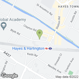 Map of Electropatent International Ltd in Hayes, middlesex
