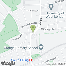 Map of Ealing Kitchens in London, london