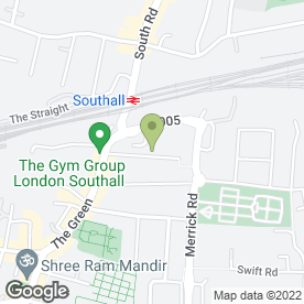 Map of Car Engines UK Ltd in Southall, middlesex