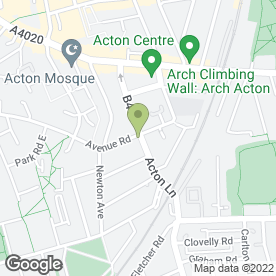 Map of Acton Lane Veterinary Surgery in London, london