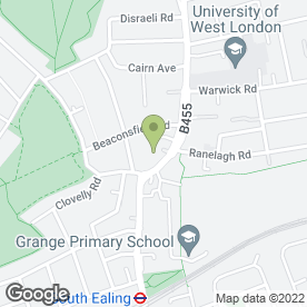 Map of ST MARYS DENTAL SURGERY in London, london