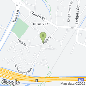 Map of Murco Service Station in Chalvey, Slough, berkshire