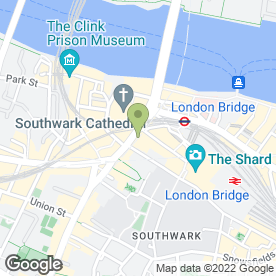 Map of Skips In SE1 in London, london