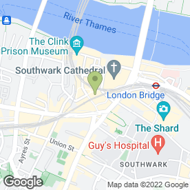 Map of G Rowe (Mushroom Sales) Ltd in London, london