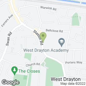 Map of Motorcycle 7 in West Drayton, middlesex