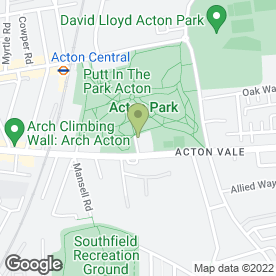 Map of Access Self Storage Acton in LONDON, london