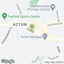 Map of FAIRCHILD GREIG in Acton, London, london