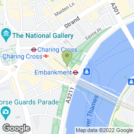 Map of Gordons Wine Bar in London, london