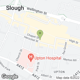 Map of Cafe Shahzad Ltd in Slough, berkshire