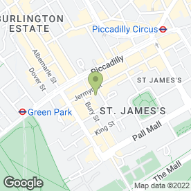 Map of Green's Restaurant in London, london