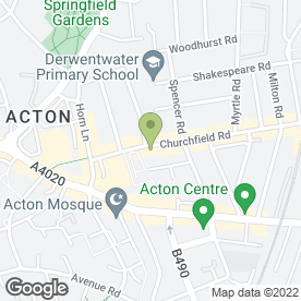 Map of Citydeal Estates Acton Ltd in London, london