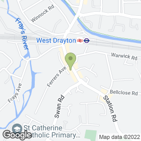 Map of Balloon in Balloon in West Drayton, middlesex