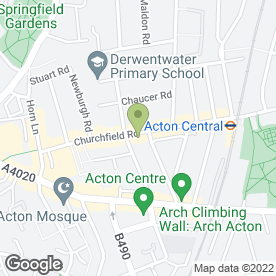 Map of Anthony Bell in London, london