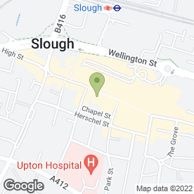 Map of Jordan Hair & Beauty in Slough, berkshire