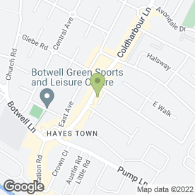 Map of Chequers Solicitors Ltd in Hayes, middlesex