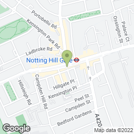 Map of Notting Hill Computer Repairs in London, london