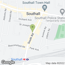 Map of Virdees in Southall, middlesex