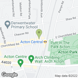 Map of Pearls Drycleaners Ltd in London, london